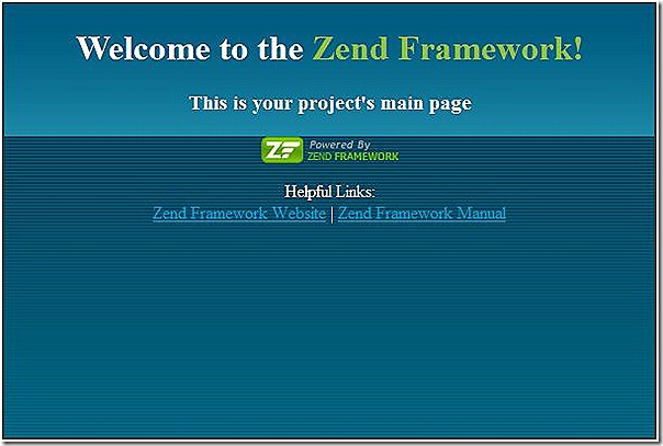 zend-framework-sample-project